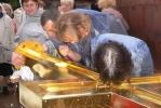 Екатерининский собор в Пушкине обрел купол и крест: Фоторепортаж