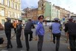 Вчера за порядком в городе следили более 3000 сотрудников милиции: Фоторепортаж