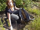 Кузьминское водохранилище очистили от мусора: Фоторепортаж
