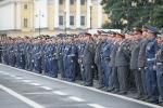 Фоторепортаж: «На Дворцовой площади прошел милицейский смотр»
