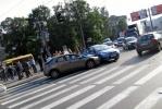 Фоторепортаж: «На Выборгской стороне милиционеры устроили ДТП»