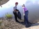 Фоторепортаж: «Кузьминское водохранилище очистили от мусора»