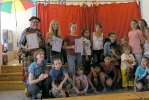 Пушкинские дети выступили с немецкими циркачами: Фоторепортаж