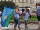 Праздник ВДВ: «Десантура» браталась с милицией, и в 25-й раз прошла по Невскому проспекту: Фоторепортаж