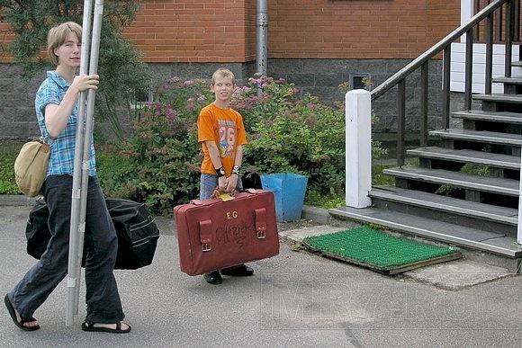Пушкинские дети выступили с немецкими циркачами: Фото