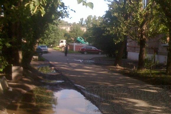 На проспекте Елизарова невыносимо воняет помойкой: Фото