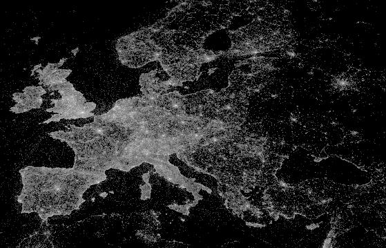 Ученые создали карту фотовспышек: Фото