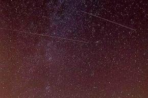 Сегодня ночью - пик метеоритного дождя
