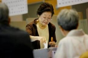 На выборах в Японии выиграла оппозиция