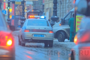В центре Петербурга стреляли в мужчину