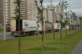 Стихийные парковки фур стали массовым явлением во Фрунзенском районе