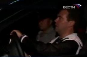 В ГИБДД поступила жалоба на Дмитрия Медведева