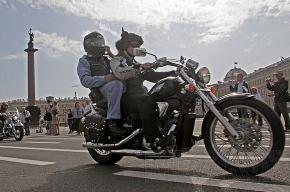 В Петербурге прошел фестиваль байкеров