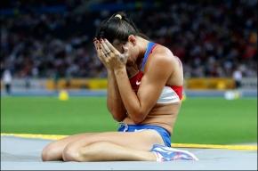 Исинбаева не смогла взять высоту на чемпионате мира по легкой атлетике
