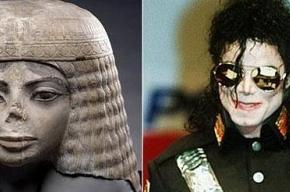 Майкл Джексон явился поклонникам в образе древней египтянки