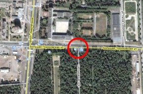 У Большеохтинского кладбища нашли бомбу