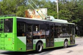 От метро «Старая Деревня» начал ходить новый троллейбус - №23
