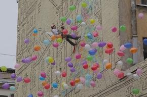 На улице Ленина граффитисты открыли красивую стену