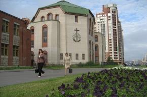 Церковь - на высоте