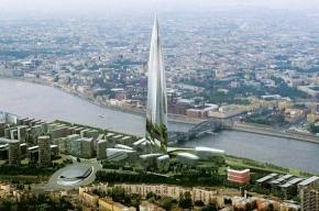 В Петербурге обсудят высоту «Охта-центра»