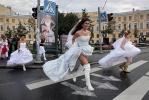 Фоторепортаж: «Свадебный десант на Гороховой»