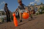 Фоторепортаж: «Соседское застолье в Тургеневском переулке собрало две сотни человек»
