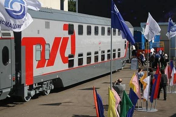 На российских железных дорогах появятся трехэтажные вагоны: Фото