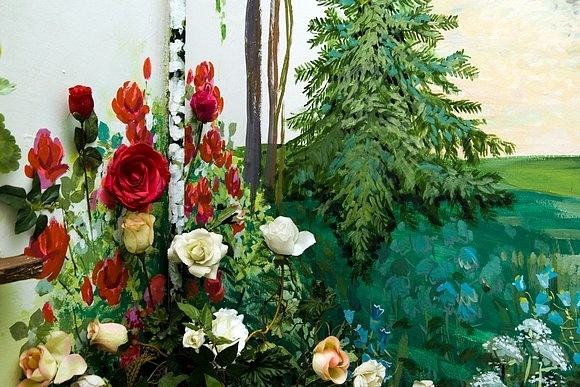 В доме № 53 на 2-й линии Васильевского острова есть волшебный этаж: Фото