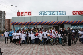 Школьник из Купчино выиграл велогонку