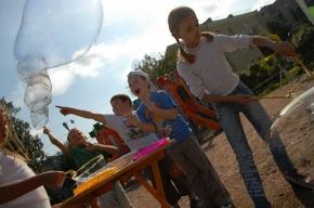 Соседское застолье в Тургеневском переулке собрало две сотни человек