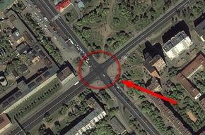 Серьезное ДТП на перекрестке Светлановского и Тореза
