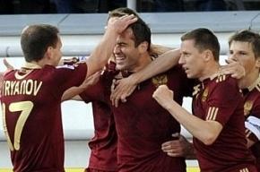 Сборная России по футболу перебирается в Петербург