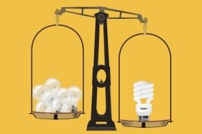 В Москве экономят на лампочках