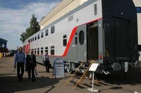 На российских железных дорогах появятся трехэтажные вагоны