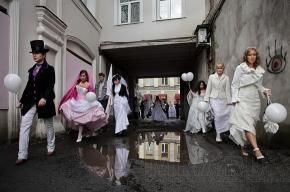 Свадебный десант на Гороховой