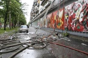 Во время пожара на Швейцарской улице погиб мужчина