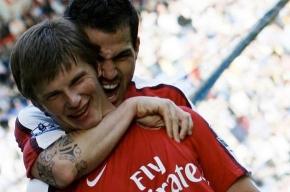 Аршавин вышел на поле в составе «Арсенала»