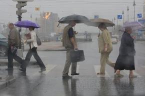 На выходных в Петербурге будет дождливо