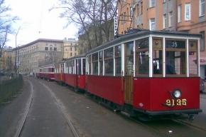 По Петербургу проедут ретро-трамваи