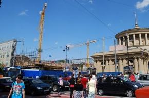 Фасады снесенных зданий на углу Невского проспекта и улицы Восстания восстановят