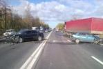 Автомобиль с номерами городского правительства попал в ДТП: Фоторепортаж