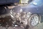Фоторепортаж: «Автомобиль с номерами городского правительства попал в ДТП»