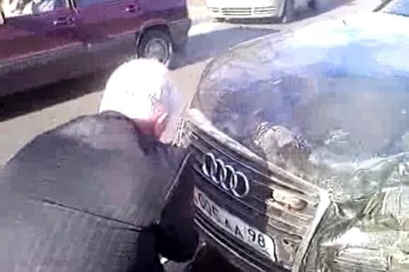 Автомобиль с номерами городского правительства попал в ДТП: Фото