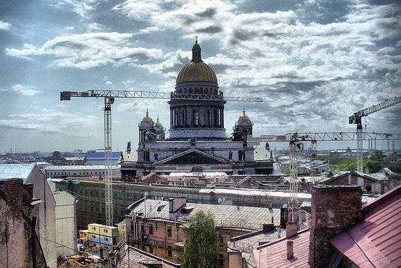 «Крыша мира» - Мекка питерских руферов: Фото