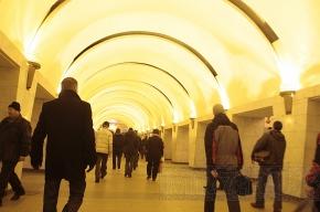 Пассажир упал под поезд на станции «Проспект Просвещения»