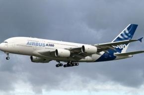 Самый крупный пассажирский аэробус прилетел в Россию