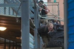 Один из нацболов, проникших на стройку Охта-центра, остается в больнице