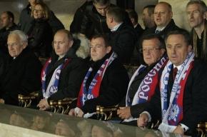 Владимир Путин заказал «главное блюдо» чемпионата мира - 2010