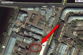 Пожаром охвачено здание прядильно-ниточного комбината на Лифляндской улице