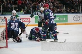 СКА проиграл рижскому «Динамо» со счетом 1:4